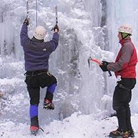 ice climbing class