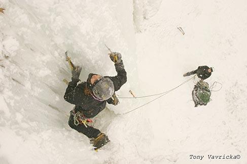 Minnesota ice climbing guide