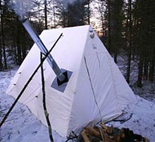 winter camping