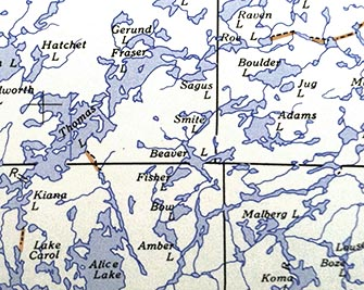 BWCA Entry Points BWCA Access - Bwca entry point map
