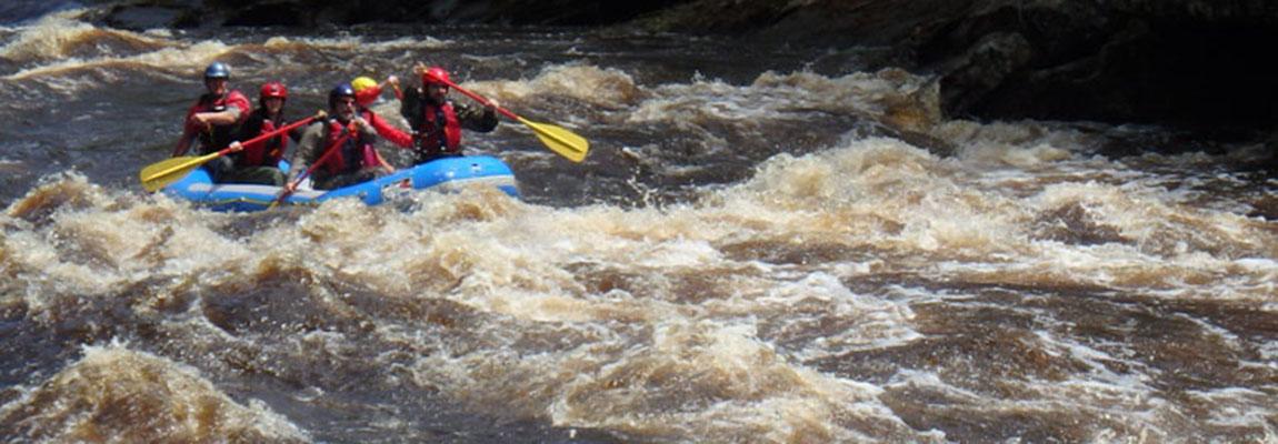 Minnesota Whitewater Rafting