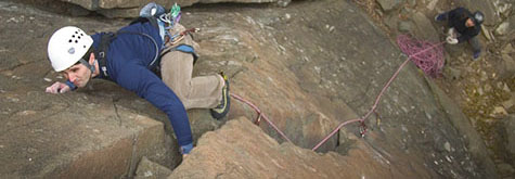 Rock and Ice Climbing Instruction