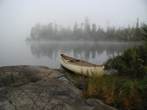 fall camping in the bwca