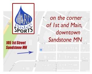 Sandstone mn map
