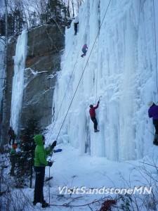 ice climbing minnesota