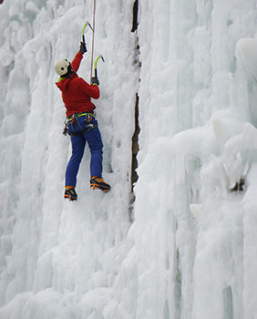 Minnesota Ice Climbing Guide