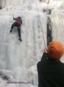 mn ice climbing guide