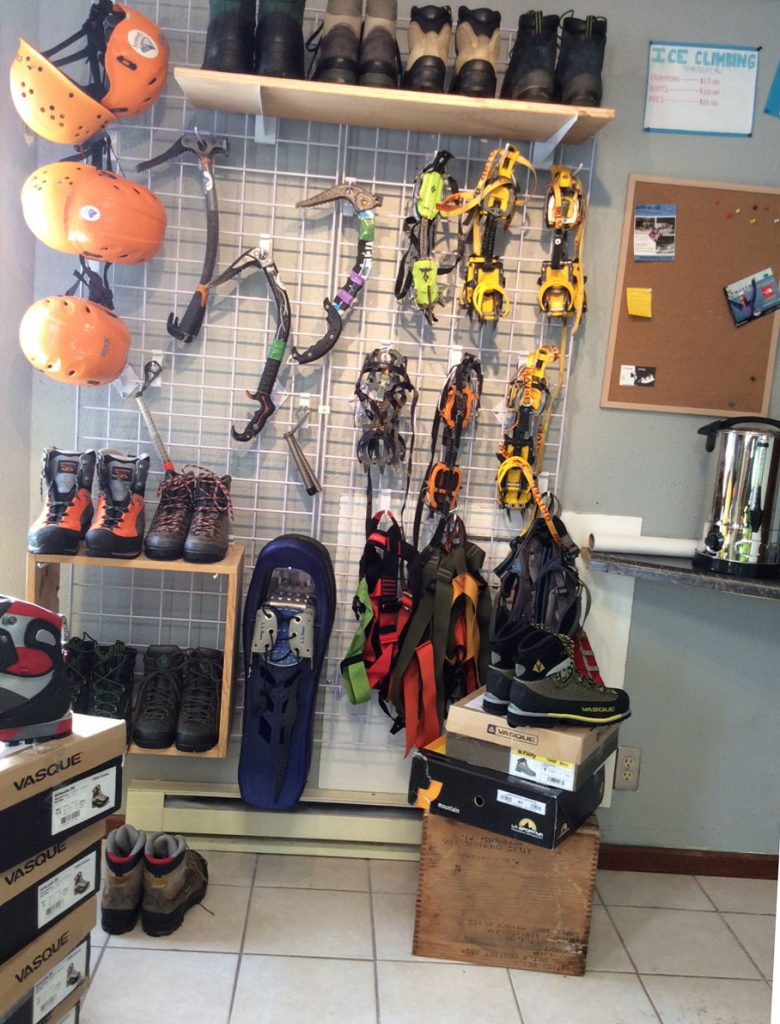 ice climbing gear rental