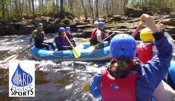 Minnesota spring rafting