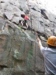 Minnesota rock climbing instruction