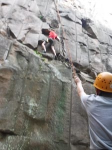 minneapolis rock climbing