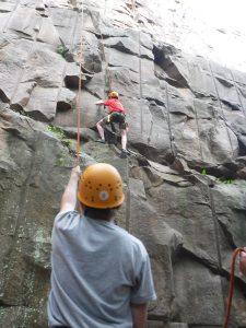 MInnesota Outdoor rock climbing instruction
