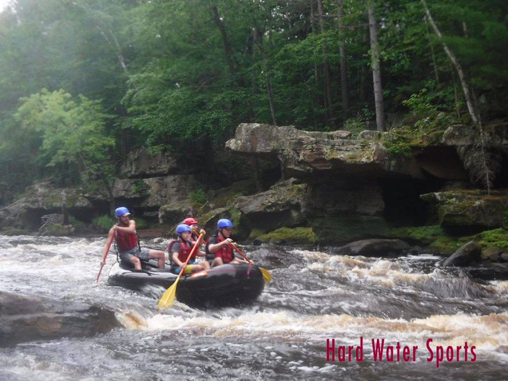Minnesota whitewater raft guide training