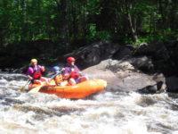 Minnesota white water rafting