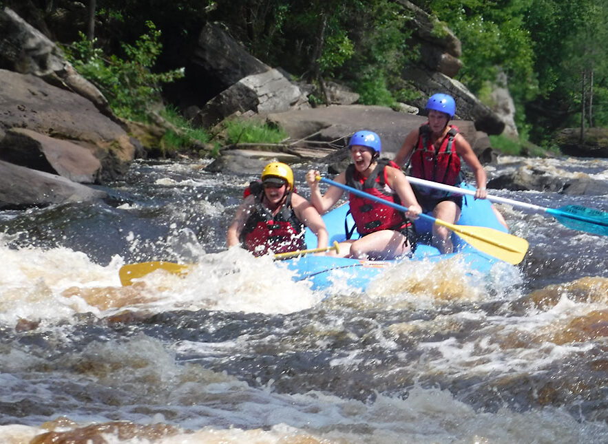 Minnesota climbing and rafting special.